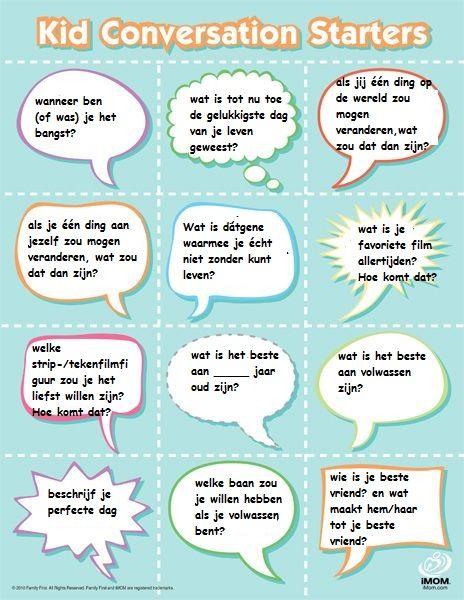 gespreksstarter