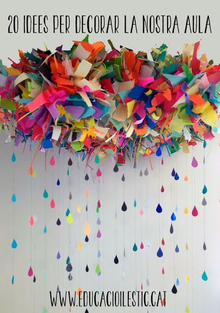 20 idees per decorar la nostra aula - Educació i les TIC