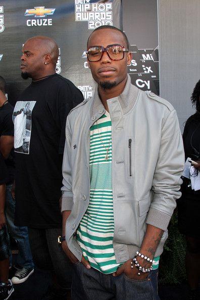 B.O.b Rapper   BET Hip Hop Awards 2010 - Arrivals (B.o.B (rapper))