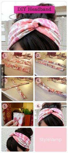 DIY: Trend-Stirnband :-)