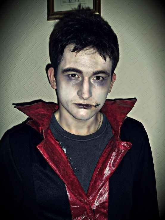 Vampire male make-up | Halloween | Pinterest | Vampires