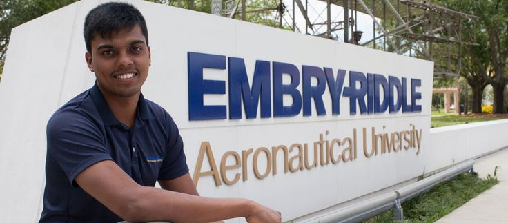 The University  Embry-Riddle Universityoldest, largest, and most reputable aviation and aerospace university in the world Well-known, Aeronauticaluniversity with two residential campuses located inDaytona Beach, Florida, and inPrescott, Arizona.  Daytona Beach Campus in eastern USA has over 5,000 bachelor degree and more than 500