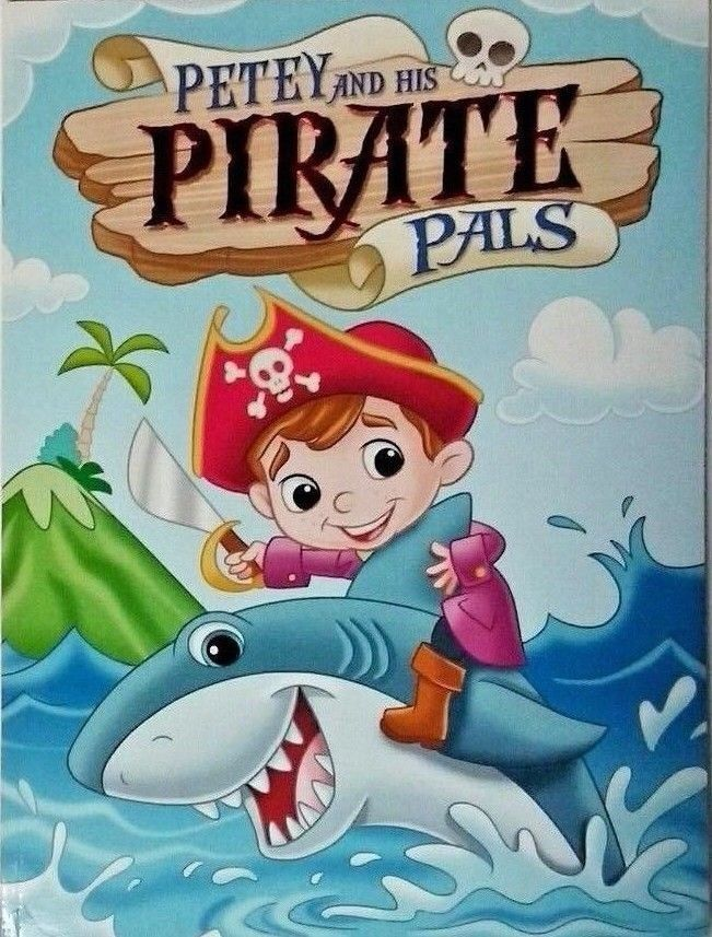 NEW Petey s PIRATES PALS GIANT COLORING ACTIVITY BOOK Word Search ...
