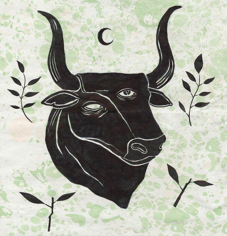 Animal Espiritual ilustración de Hanako Mimiko