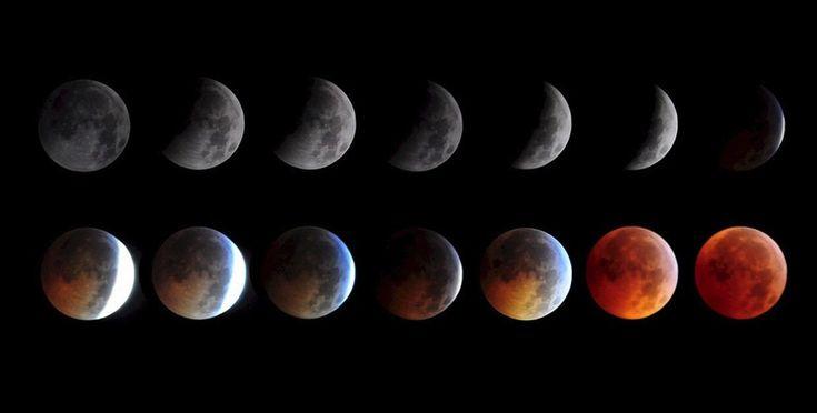Blood moon (supermoon) lunar eclipse 2015 live stream, feed: NASA ...