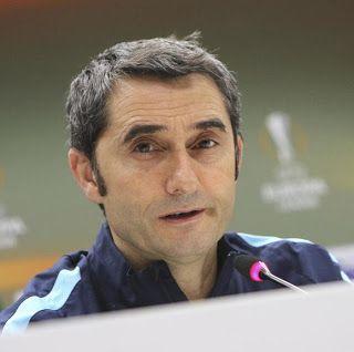 Blog Esportivo do Suíço: Barcelona anuncia Ernesto Valverde como seu novo treinador