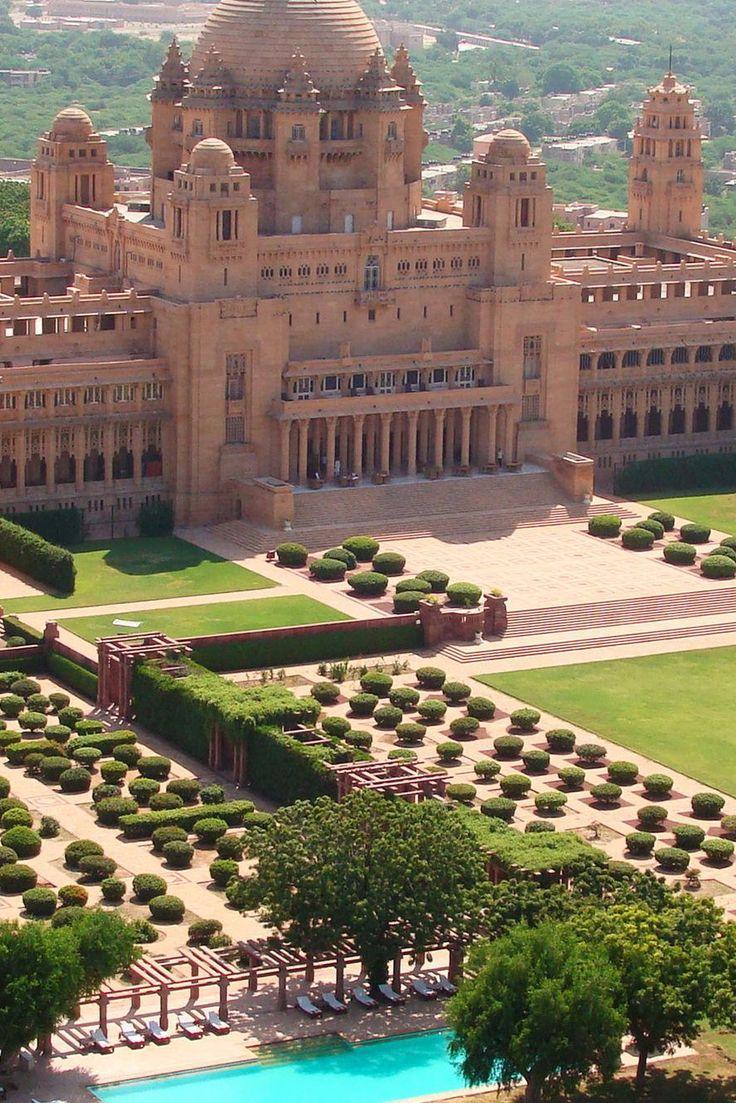 Make like a Maharaja with a stroll around the 26 acres. Umaid Bhawan Palace (Jodhpur, India) - Jetsetter