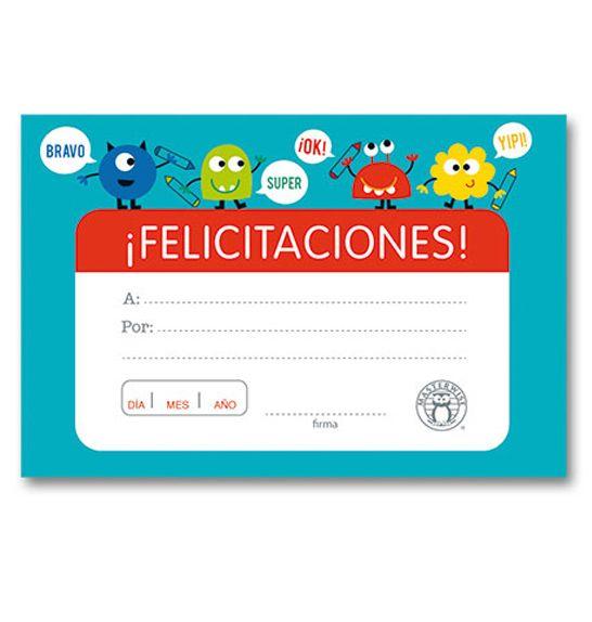 Minidiploma Felicitaciones 1 -> http://www.masterwise.cl/productos/36-reforzamiento-positivo/1880-minidiploma-felicitaciones-1