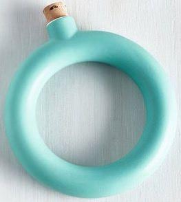 Turquoise Bangle Flask Bracelet