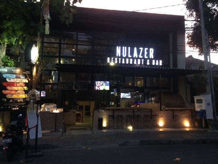 Bar: NuLazer Address: 82 Jalan Tambalingan, Sanur, Bali Tel: +62 361-288-807 Website:www.nulazerbali.com Excellent new restaurant/bar located on Jl Tambalingan in central Sanur. very modern presentation, great entertainment & excellent service make this place a great choice.