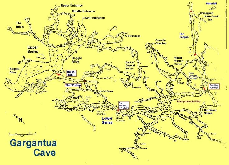 Gargantua Caves Crowsnest Pass, Alberta Canada