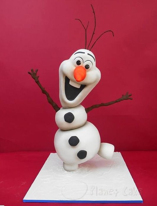 Disney Olaf cake by Planet Cake
