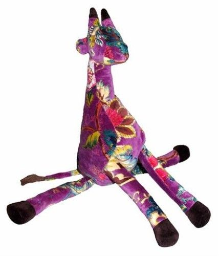 Purple Giraffe Toy