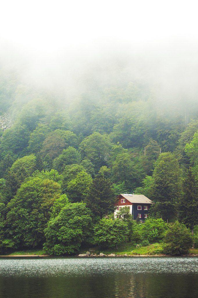 Lake House, France photo via maria