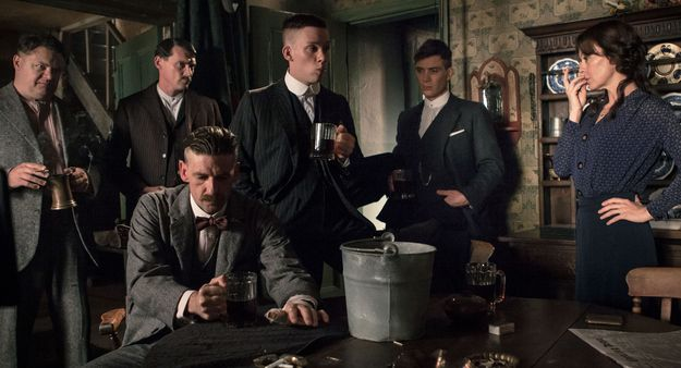 """The first episode does an exceptional job of building a world. The music, time period dress, has some excellent creators. """" The Irish troubles were approaching a breaking point, and the threat of a Communist revolution was very real. The lawless streets of Birmingham were one such place where everything was changing and the criminal Shelby family were rising to power. """"It's all based on real events,"""" says creator Steven Knight.""""  (violent and has nudity not a family movie)"""