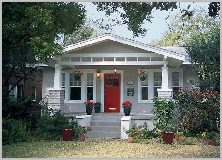 Front Door Colors For Gray Brick House                                                                                                                                                      More