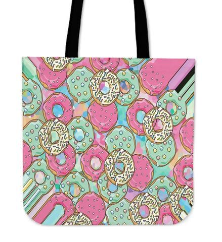Donuts - Tote Bag. Yummy Donuts! Colorful and unique Backpack ready to carry with style your daily items wherever you go.