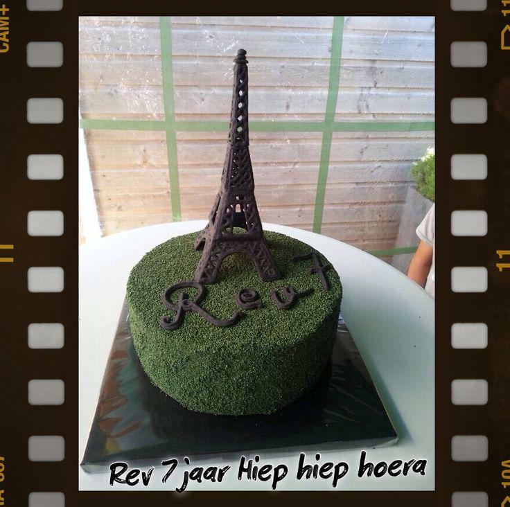 Eiffeltoren Taart!