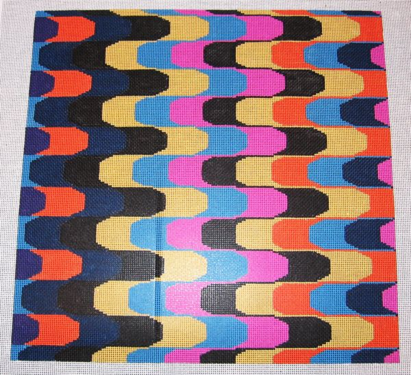 Needlepoint Abstract Canvas