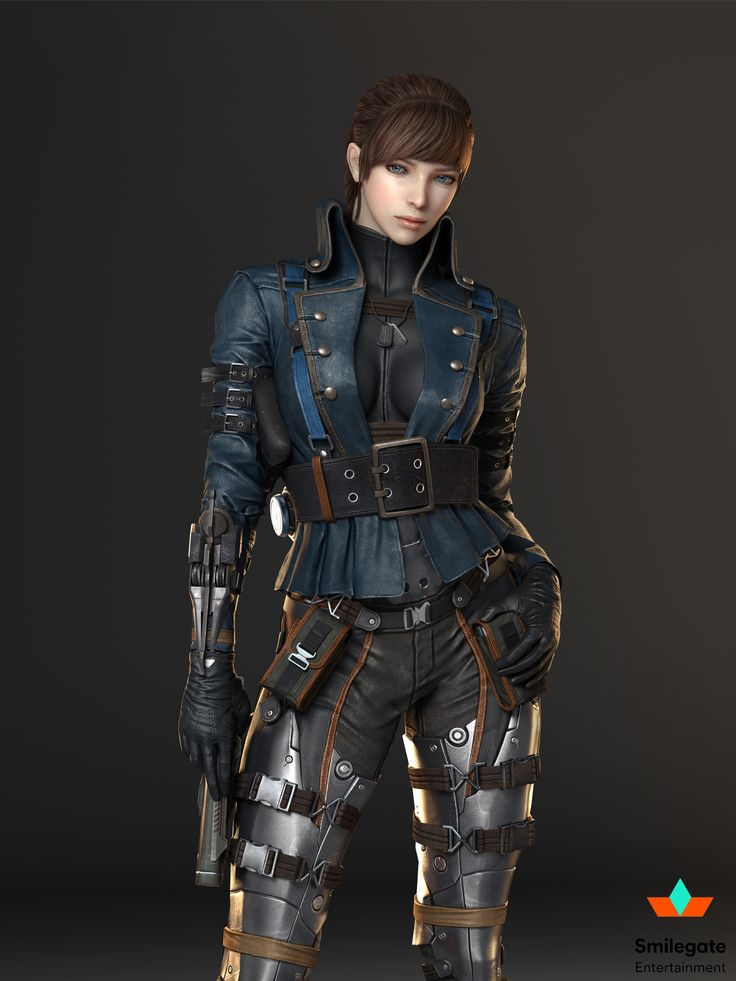 ArtStation - cross fire female characters, byoungkang kwon