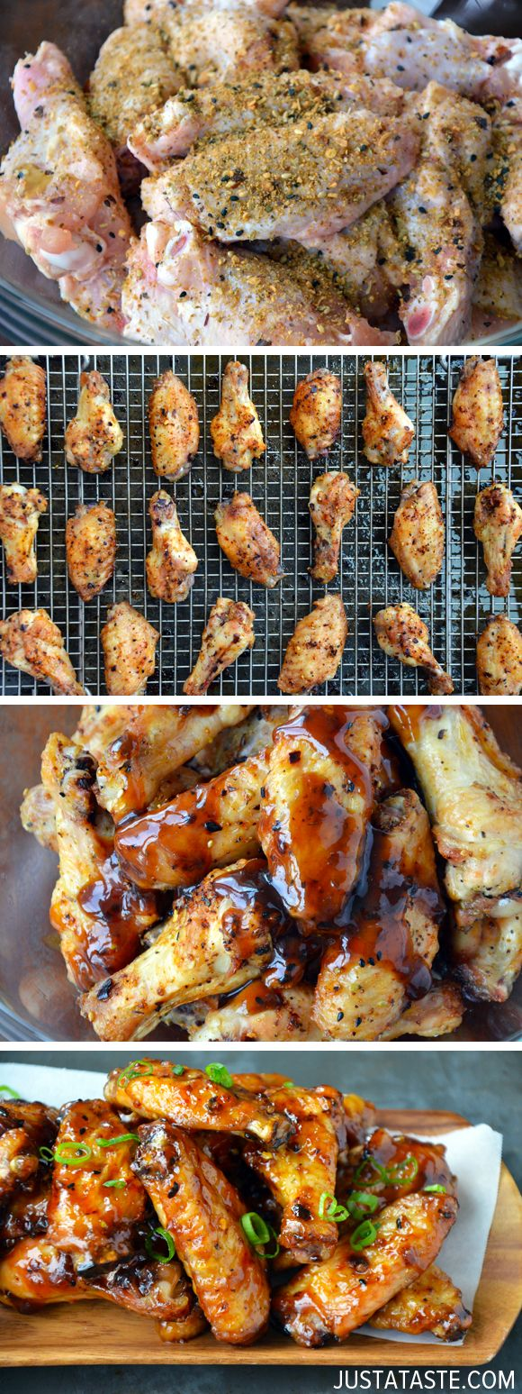 Crispy Baked Asian Chicken Wings #recipe | Goodfella's Grill and Bar is an American restaurant located in Lexington, SC that carries everything from burgers to wings to choice cut steaks and even nightly features! Call (803) 951-4663 or visit http://goodfellasgrillandbar.com for more information!