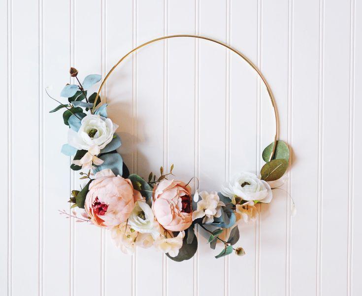 Spring Wreaths Dollar Store