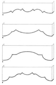 cornice shapes - Google Search