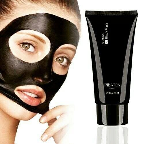 Pilaten Blackhead Remover Deep Cleansing Purifying Peel Acne Black Mud Face Mask 2.1 oz (1 Pack)