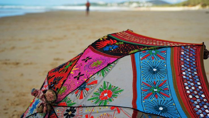 Feel the love; Detail on a ROPP parasol www.paulropp.com #bohemianstyle #bohochic #gipsysoul #gipsystyle