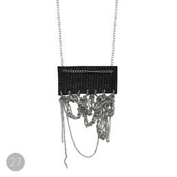 This beautiful necklace is a part of Oily Bird series designed by Liisa Tuimala.  Every piece is unique and numbered with tag. This necklace is the 27th in Oily Bird series.