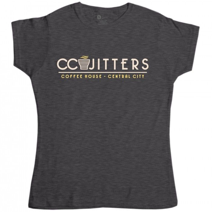 Inspired by #TheFlash - Women's CC Jitters Coffee House t-shirt from 8Ball.co.uk