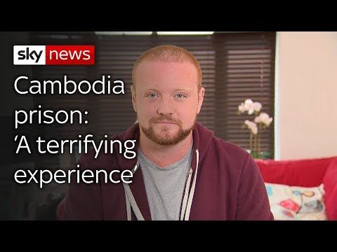 'Pornographic dancing' tourist on 'terrifying' prison experience Sky News