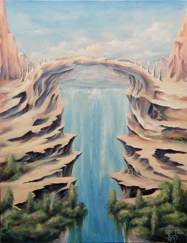 Картины МАГИЯ РУН. Trish: Между вечностью и мигом