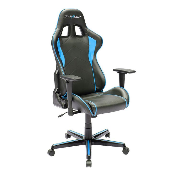 Dxracer Formula Series Newedge EditionRacing Bucket Seat Office Chair  Gaming Chair Ergonomic Computer Chair (Black/Red) With Pillows