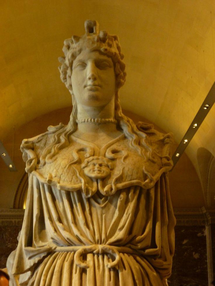 Athena Parthenos, dite <Minerve au collier>