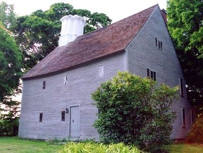 Arnold House  Lincoln, Rhode Island  1693 - friends rented from SPNEA in 1970s and daughters & I often stayed over