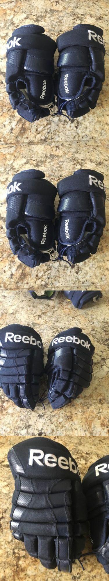 Gloves 20853: Reebok Ice Hockey Gloves 7000 Navy Blue 12 New -> BUY IT NOW ONLY: $35.99 on eBay!