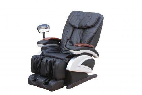 Electric Full Body Shiatsu Massage Chair Recliner ~ http://ever-unfolding.net/best-massage-chair-reviews/
