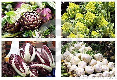 Vegetables at market
