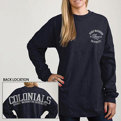 George Washington University Women's Ra Ra Long Sleeve T-Shirt