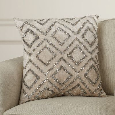 Darby Home Co Hensen Moroccan Design Beaded Throw Pillow & Reviews | Wayfair