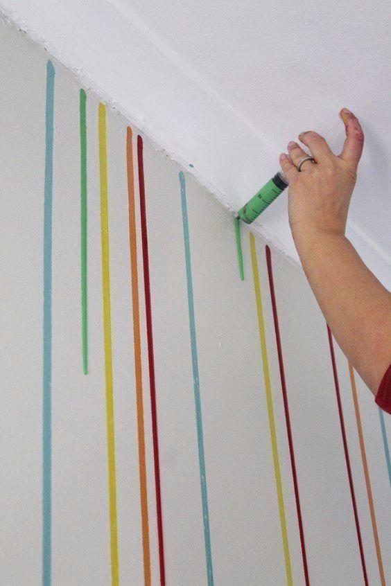 unglaublich 34 Coole Möglichkeiten, Wände zu streichen