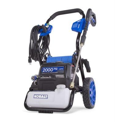 Kobalt 5100103 2 000 Psi 1 2 Gpm Electric Pressure Washer