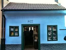 Golden Lane (Zlata ulicka) No. 22, a house where Kafka's sister used to live and Franz liked to visit and write, quietly.  http://praguetravelconcierge.com/guide-to-franz-kafka-and-prague
