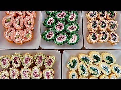 ROTOLI FRITTATA IN MILLE MODI Ricetta Facile - Italian Frittata Rolls Easy Recipe - YouTube
