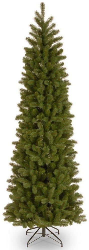 Home Accents Holiday 7 Ft. Downswept Douglas Slim Artificial Christmas Tree #HomeAccentsHoliday