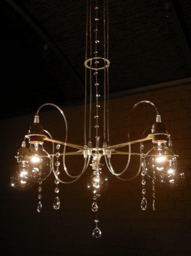 מנורת תקרה תלויה שנדליר סולומון