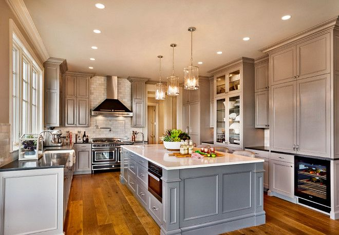17 best images about beautiful non white kitchens on for Benjamin moore kitchen paint ideas