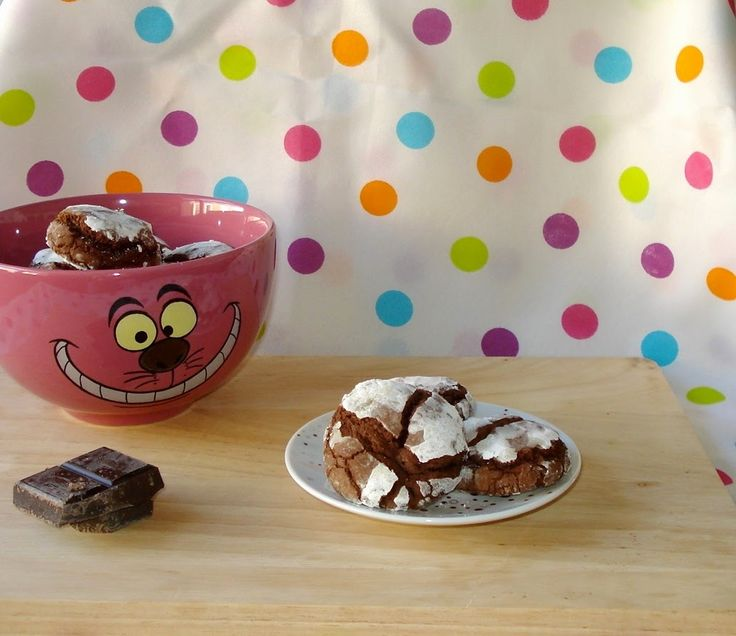 DULCETERAPIA: Galletas Crinkles de Chocolate