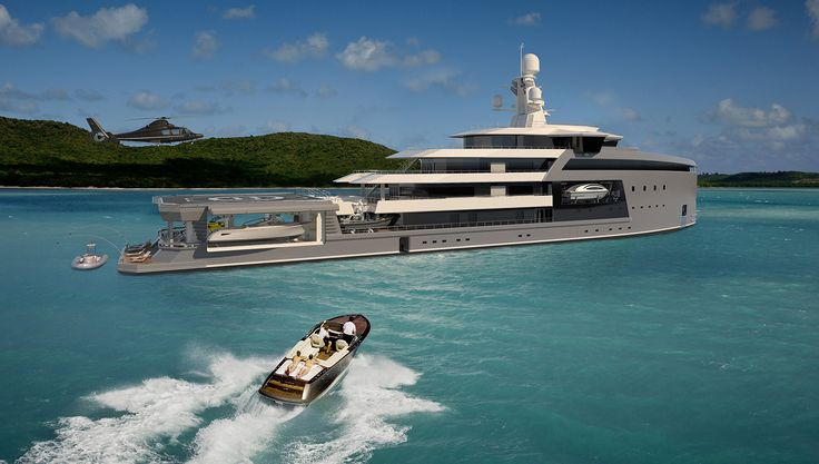Damens First SeaXplorer Expedition Yacht Is Under Construction